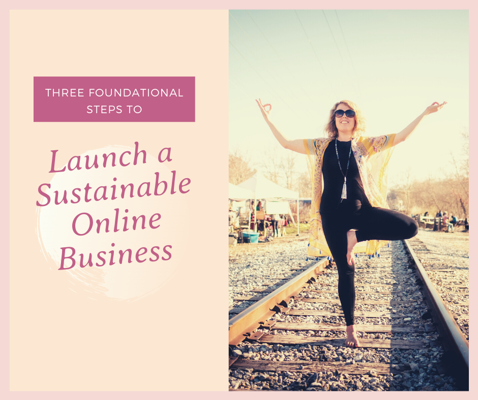 Three Foundational Steps to Launch a Sustainable Online Business