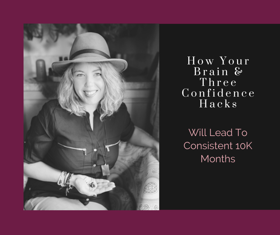 How Your Brain & 3 Confidence Hacks Will Lead to Consistent 10K Months