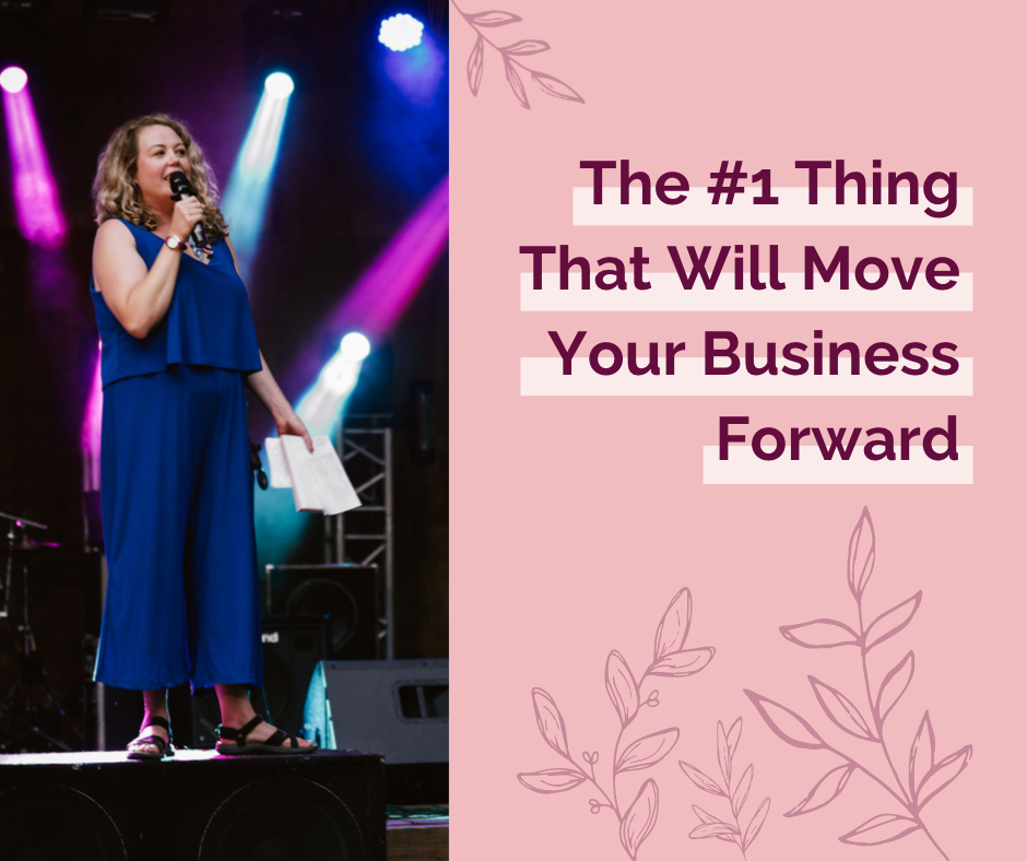 Meredith Walsh-Mind Your Intuition-#1 Thing That Will Move Your Business Forward: Confidence