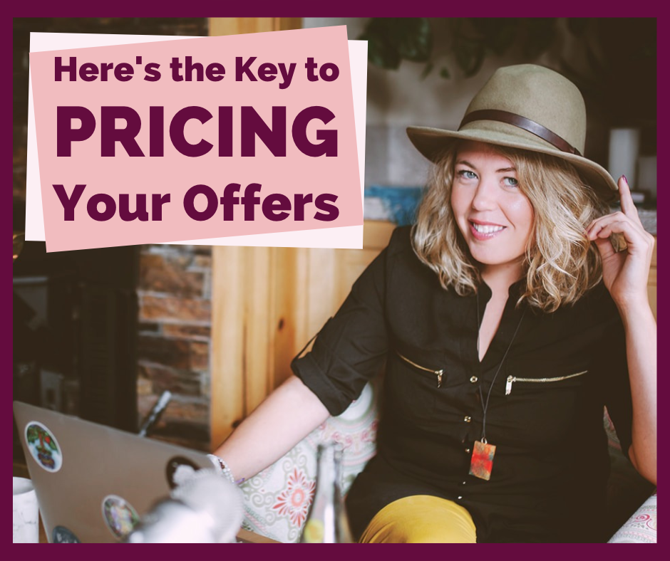Here's the Key to Pricing Your Offers